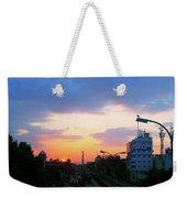 Blue Evening Sky Weekender Tote Bag