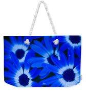 Blue Daisies, Medford Oregon Weekender Tote Bag