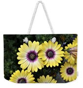 Blue Eyed Beauty African Daisy Weekender Tote Bag