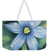 Blue Eyed Grass - 1 Weekender Tote Bag
