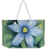 Blue Eyed Grass - 1 Weekender Tote Bag