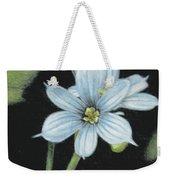 Blue Eyed Grass - 2 Weekender Tote Bag