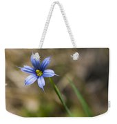 Blue-eyed Grass II Weekender Tote Bag