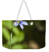 Blue-eyed Grass IIi Weekender Tote Bag
