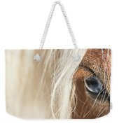 Blue Eyed Horse Weekender Tote Bag
