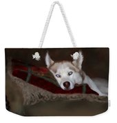 Blue Eyes Weekender Tote Bag by Colleen Taylor
