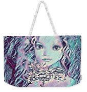 Blue Fairy Princess Weekender Tote Bag
