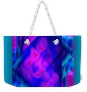 Blue Fashion Weekender Tote Bag