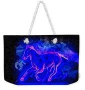 Blue Fire Horse - Da Weekender Tote Bag