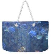 Blue Fish Weekender Tote Bag