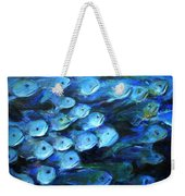 Blue Fish Weekender Tote Bag