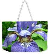 Blue Flag Iris Weekender Tote Bag