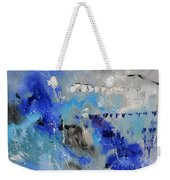 Blue Flight Abstract Weekender Tote Bag