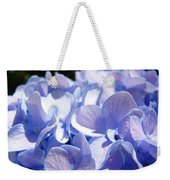 Blue Floral Art Prints Blue Hydrangea Flower Baslee Troutman Weekender Tote Bag