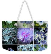 Blue Flowers All Weekender Tote Bag