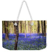 Blue Forest In Shadow Weekender Tote Bag