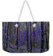 Blue Forest Weekender Tote Bag