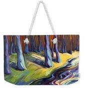 Blue Forest Weekender Tote Bag