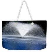 Blue Fountain Weekender Tote Bag