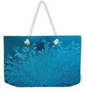 Blue Frost Weekender Tote Bag