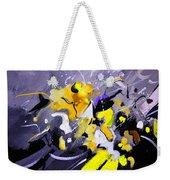 Blue Galactic Motion Weekender Tote Bag