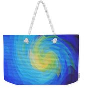 Blue Galaxy Weekender Tote Bag