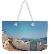 Blue Gate Santorini Weekender Tote Bag