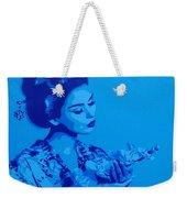 Blue Geisha Weekender Tote Bag