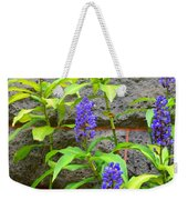 Blue Ginger At The Wall Weekender Tote Bag