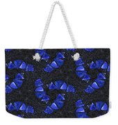 Blue Glass  Weekender Tote Bag