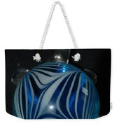 Blue Glass Turtle Weekender Tote Bag