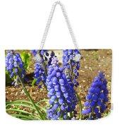 Blue Grape Hyacinth Weekender Tote Bag