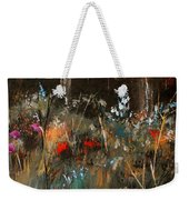 Blue Grass And Wild Flowers Weekender Tote Bag
