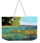 Blue Grass Sunny Day Weekender Tote Bag