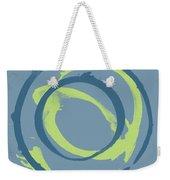 Blue Green 1 Weekender Tote Bag