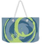 Blue Green 2 Weekender Tote Bag