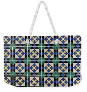 Blue Green Lisbon Tiles Souvenirs Weekender Tote Bag
