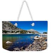 Blue Green Treasure Lake Weekender Tote Bag