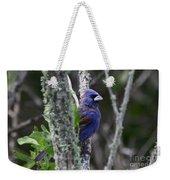 Blue Grosbeak In A Mangrove Weekender Tote Bag