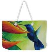 Blue-headed Hummingbird Weekender Tote Bag