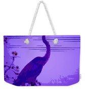 Blue Heron... Weekender Tote Bag