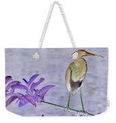 Blue Heron Colorized Weekender Tote Bag