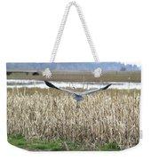 Blue Heron Flight Weekender Tote Bag
