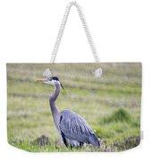 Blue Heron In Northern Wa  Weekender Tote Bag