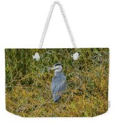 Blue Heron In The Autumn Colours Weekender Tote Bag