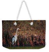 Blue Heron In The Cypress Knees Weekender Tote Bag