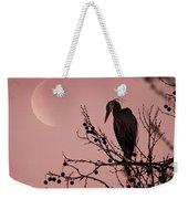 The Heron And The Moon Weekender Tote Bag