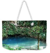 Blue Hole National Park Weekender Tote Bag