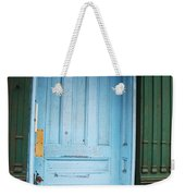 Blue Home Weekender Tote Bag