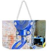 Blue Hook Weekender Tote Bag